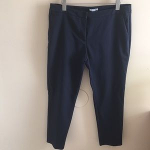 H&M ankle length navy pants